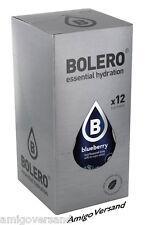 Bolero DRINKS – Blueberry (Heidelbeere) - 12 Beutel für 18-36 Liter