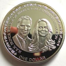 Niue 2011 Royal Wedding Dollar 1oz Silver Coin,Proof