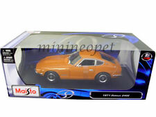 MAISTO 31170 1971 71 NISSAN DATSUN 240Z 1/18 DIECAST MODEL CAR ORANGE