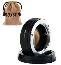 Focal Reducer Speed Booster Adapter Minolta MD mount lens to Sony NEX 5T 7 A6000