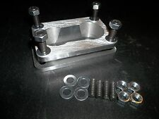 """40mm Weber DCNF adapter spacer to mount to DGV manifod - 1"""" thick"""