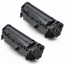 2 Toner Cartridge For HP Q2612a 12A LaserJet 1010 1012 1018 1020 3030 3020 3015