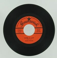 Soul JACKIE WILSON Alone At Last / Am I The Man BRUNSWICK 45 Northern Single