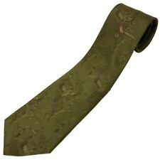 No.2 Tie Single Pheasant Polyester by Bisley - Shooting Clothing Hunting Country