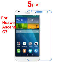 5x High CLEAR LCD Screen Protector Guard Cover Shield Film For Huawei Ascend G7