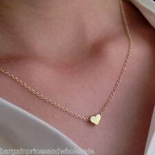 Pequeño Pequeño Dulce amor colgante de tono oro enchapado en oro 24k Amor Medallón