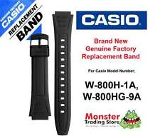 REPLACEMENT CASIO WATCH BAND ORIGINAL WOULD FIT: W-800H-1A, W-800G-9A