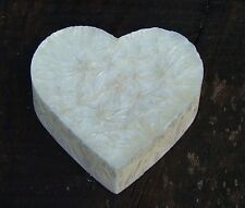 100hr WHITE DIAMONDS Love Heart Huge OIL BURNER CANDLE MELT TRIPLE SCENTED GIFTS