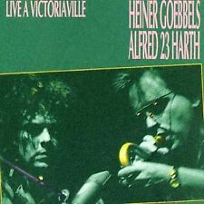 Live … Victoriaville by Heiner Goebbels/Alfred 23 Harth (CD,1993, Victo) Canada