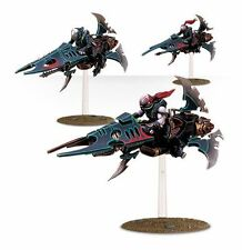 Warhammer 40K  Reavers Dark Eldar Reaver Jetbikes x3 Gangs of Commorragh