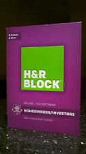 H&R Block Deluxe + State 2016 Tax Software Mac PC