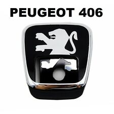 PEUGEOT 406 Rear Gate Lock Logo Emblem Badge for 406 sedan / 406 coupe / 8726 C1