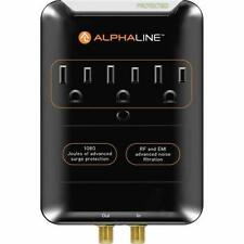 Alphaline 3 outlet surge protector for Audio / Video