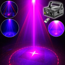 SUNY 300mw Remote BLUE RED Laser Stage Light LED DJ Home Xmas Home Party Dancing