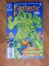 FANTASTIC FOUR #405 NEAR MINT WITH CARD INSERT (W5)