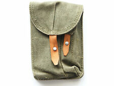 VINTAGE CANVAS HOLSTER PM63 RAK - POLISH ARMY - MACHINE GUN PISTOL WEBBING BAG