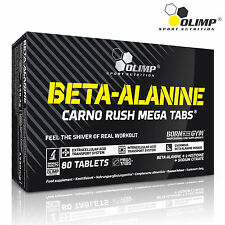 BETA-ALANINE  80 Tablets Pre-Workout Booster Energy Endurance Dietary Supplement
