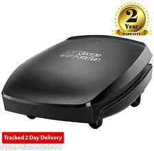 George Foreman RUSSELL HOBBS 18471 Grill 4 Four Portion Family Large Grill Blac