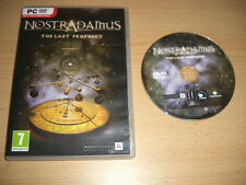 Nostradamus-el último Prophecy Nm Pc Dvd Rom rápido post