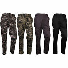 men military camo Army Fatigue Camouflage combat cargo work trousers pants