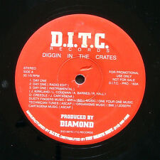 """D.I.T.C. DIGGIN IN THE CRATES Day One 12"""" PAYDAY US 1997 PROMO Hip Hop Rap"""