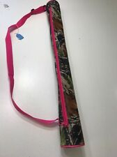 Woman's POOL STICK CASE Pink Camouflage Pool Stick carrying Case Billiards Case