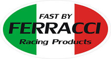 Fast by Ferracci Racing Muffler, Fairing, Helmet Decals, Ducati Superbike (2)