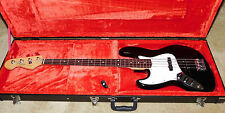 Fender Jazz Electric Bass Guitar*Left Handed*Black Gloss Finish*2013*Lefty