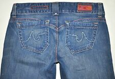 AG Adriano Goldschmied Women's Dillan Boot Cut Jeans 27R X 31.5 AWESOME RARE