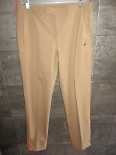 Prada red label mustardy camel color pants  size 50 made in Italy