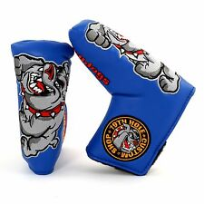Bulldog Golf Blade Putter Headcover, Scotty Cameron Odyssey Ping Taylormade Blue