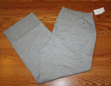 NWT Womens LIZWEAR Active Heathered Gray Exercise Knit Lounge Pants Size XXL