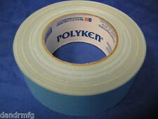 "NEW POLYKEN 105C 1.89"" x 36.09yd MULTI PURPOSE DOUBLE SIDED CARPET TAPE USA MADE"
