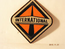 International Truck Trucking Iron-On Embroidered Patch