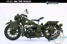ZYTOYS 1:6 Vehicles WWII U.S. Military Motorcycle ZY-8038