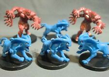 Dungeons & Dragons Miniatures Lot  Akata Astral Encounters !!  s77