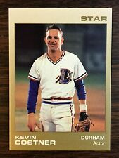 1988 KEVIN COSTNER #9 Star Company Durham Bulls Limited Update Card   G7105616