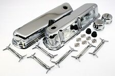 Chrome Dress Up Kit Small Block Ford 289 302 351W Valve Covers 5.0L SBF