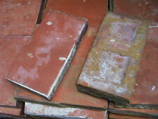 "4 1/2"" x 9 inch red quarry tile tiles floor bricks"