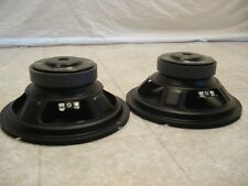 "NEW (2) 8"" Replacement Speakers PAIR.4 ohm.bass eight inch woofer.Car Home Audio"