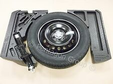 Genuine Nissan Qashqai J11 2014- Spare Wheel Space Saver, Foams, Tool Kit & Tyre
