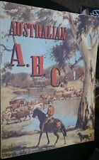 Australian A B C vintage childrens book  circa 1940 Scarce title