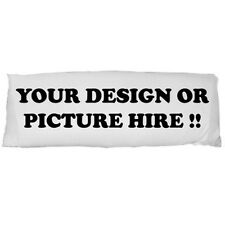 New Personalized Logo, Design, Photo, Text Body Pillow Case Dakimakura one side
