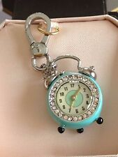 BRAND NEW JUICY COUTURE ALARM CLOCK BRACELET CHARM IN TAGGED BOX - SALE !