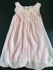 Paulinie Collection Girl Flower Pink Party Dress Balloon Bubble