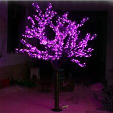 6.5ft Height 1,040pcs LEDs Cherry Blossom Tree Christmas Light Tree Pink Outdoor