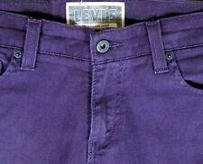 LEVI'S 510 Jeans Purple Denim Size W29 x L32 Super Skinny Stretch (J1)