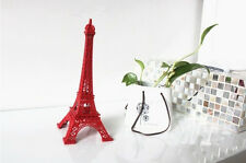 New Eiffel Tower 10cm high Statue Souvenir from Online Gift Store red