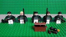 LEGO HARRY POTTER 4737 QUIDDITCH MATCH Slytherin MINIFIGURES  Genuine Lego.