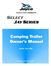 Jayco Fold-Down Pop-Up Tent Trailer Owners Manual- 2009 Baja Jay Select